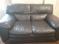 DFS Leather Sofas 2 + 3 seater