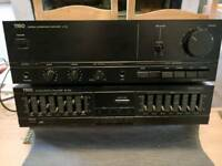 Kenwood A-3x amplifier and equaliser