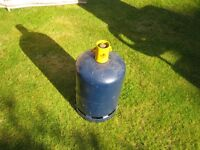 French Butane gas cylinder, empty