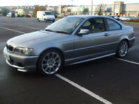 54 plate BMW 320ci M sport Coupe 2.0 Petrol Lovely Looking and Driving Car