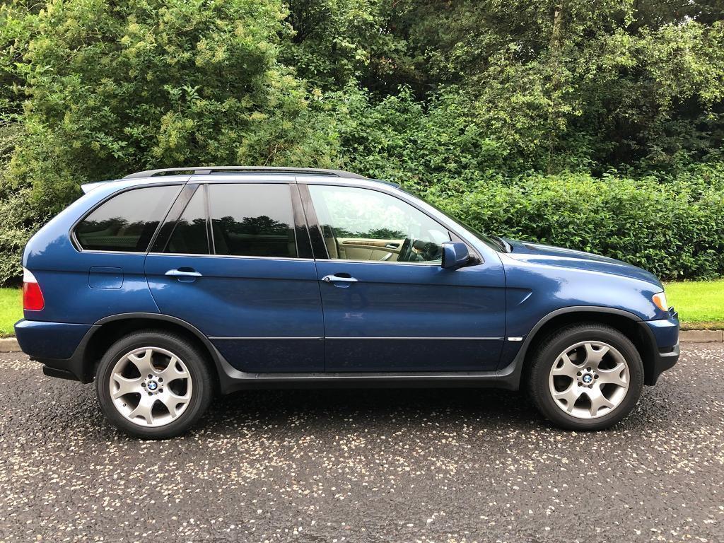 2001 BMW X5 4.4i 282BHP V8, 5 Door, Petrol, Manual, MOT 11 Months, 67,000  miles 6 stamps in service | in Livingston, West Lothian | Gumtree