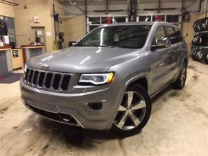 2016 Jeep Grand Cherokee OVERLAND*CUIR*TOIT PANO*NAV*ENS REMORQU