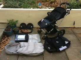 Bugaboo Chameleon with lots of accessories