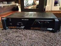 Gemini XG-2000 Fan Cooled Bridgeable Power Amplifier
