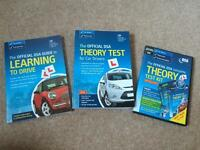 Theory Test books and DVD bundle
