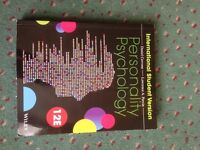 Personality Psychology - International student version 12th edition