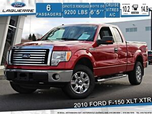2010 Ford F-150 XLT XTR**4X4*6PLACES*CRUISE*A/C**