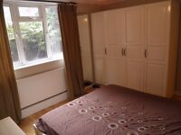 Spacious Double Room in fully furnished 2 bedroom ground floor flat