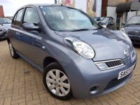 Nissan Micra 1.2 16v Acenta+ reg2007,5dr Ideal First Car,Aux,Bluetooth,Cruise Control
