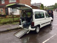 Citroen Berlingo wheelchair access car in excellent condition