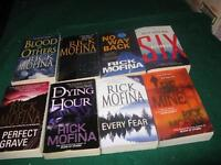 Rick Mofina books $1 each or $5 for the lot