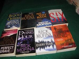 Rick Mofina books $1 each or $5 for the lot St. John's Newfoundland image 1