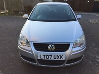 2007 Volkswagen Polo 1.4 SE 5dr Automatic Low Mileage @07445775115@ 07725982426@