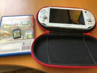 PlayStation Vita Slim 32 GB memory card + one game + carrying case