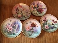 """""""Symphony of Shimmering Beauty"""" collectible plate series"""