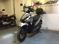 Suzuki UK110 NE Address Automatic Scooter, Good Condition, Top Box, Windshiel...