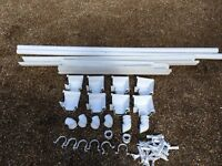 white Ogee guttering parts