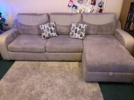 DFS 4 Seater Corner Sofa Bed
