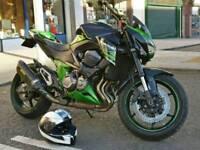 Kawasaki z800 performance edition