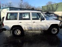 mitsubishi shogun 2,5 parts from a lwb mark i jeep white