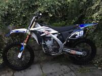 Yamaha yzf 250 4 stroke motocross