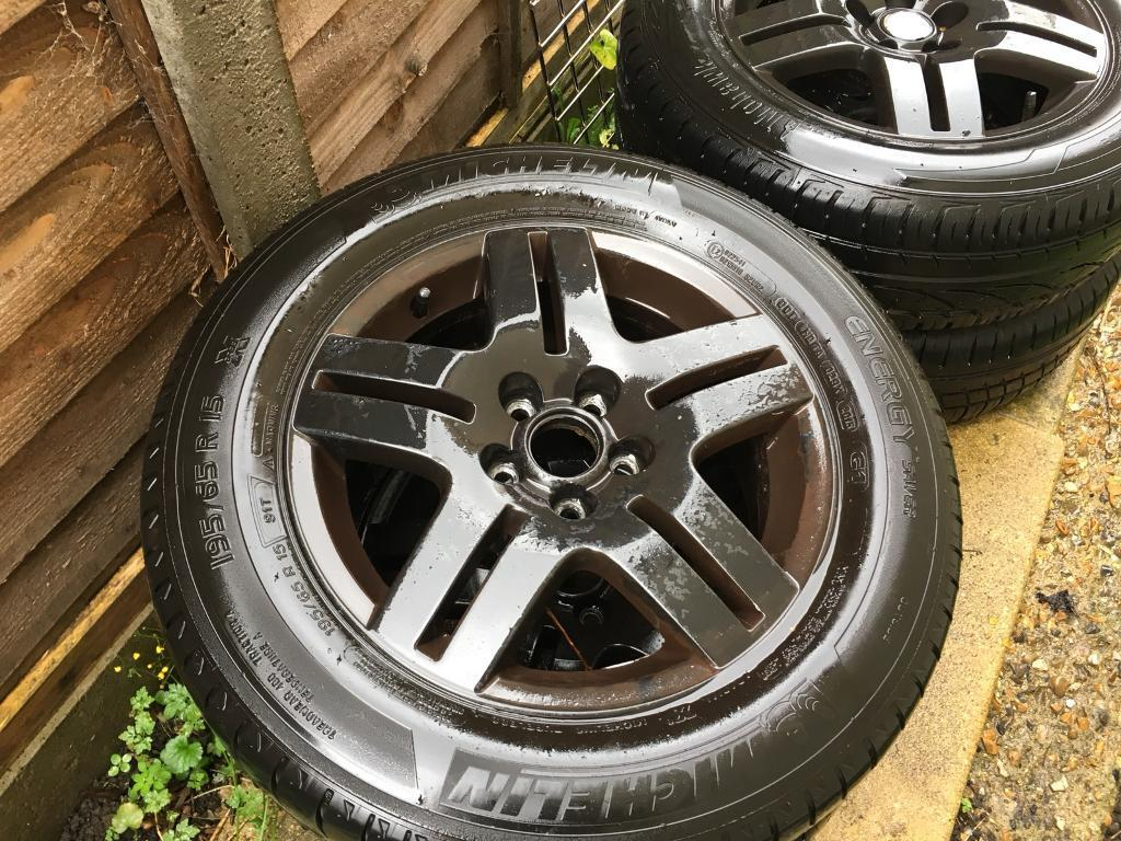 "Volkswagen Golf wheels 15"" tyres included all perfect condition"