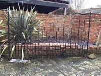 Substantial metal pair of gates
