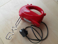 GREAT WEE EASY CLEAN 'SABICHI' RETRO FOOD MIXER 'RED' £8