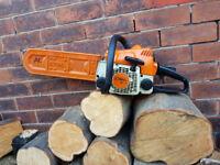 Stihl 017 petrol chainsaw like ms170