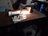 Semi industrial drop feed sewing machine