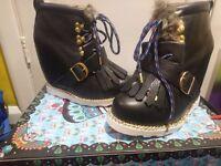 Irregular choice new big step momma 4/37 boots