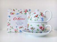 Cath Kidston tea for one set (floral bird pattern)