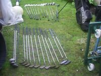 Job lot of golf items sell as job lot or seperate