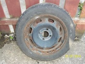 185/60/15 tyre and rim