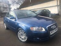 AUDI A4 2007 SALOON FULL SERVICE HISTORY 2.0 12 MONTHS MOT ALLOY WHEELS IN-CA...