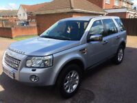 2007/07 Land Rover Freelander 2 2.2TD4 XS Silver Automatic 4x4 Estate