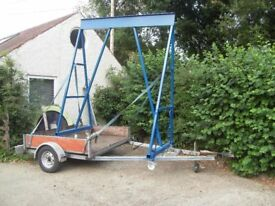 Lifting gantry - 2 ton pro built and in excellent order