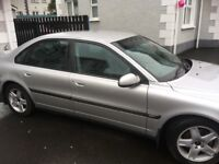 S80 Volvo silver in excellent condition , in same family sense purchase in 2002