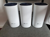 TP-Link Deco S4 AC1200 WiFi 5 Mesh Router/Access Point, Three Pack (1167Mbps AC)