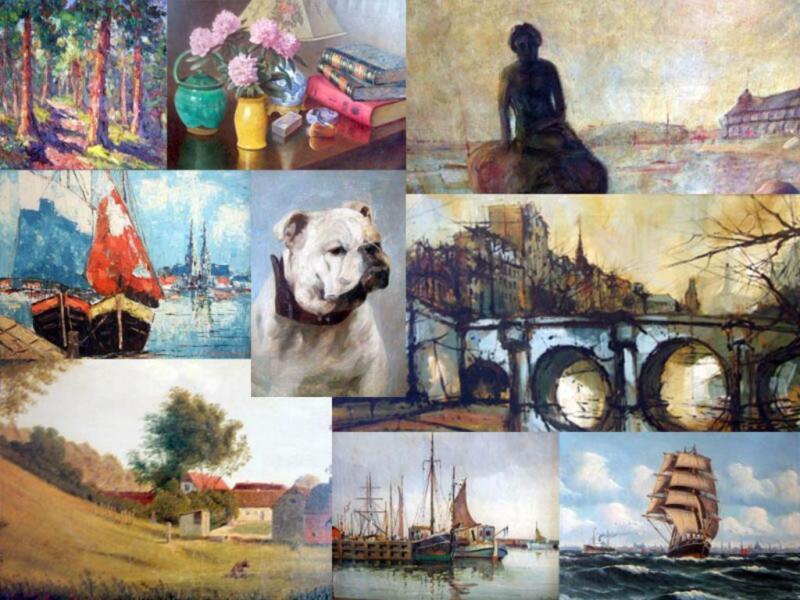 verschiedene lbilder maler bilder gem lde in bayern aschaffenburg ebay kleinanzeigen. Black Bedroom Furniture Sets. Home Design Ideas