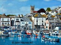 Brixham Harbour A3 Giclee limited edition print