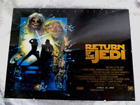 'RETURN OF THE JEDI' Special Edition - Framed Poster (40x30cm, 1997)