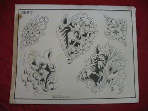 1986 spaulding rogers flash art big cat roses page 609t ebay for Spaulding rogers tattoo