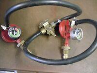 PROPANE GAS REGULATORS FOR CARAVAN AND MOTOR HOMES