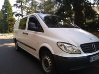 XLWB LONG MERCEDES-BENZ VITO 109 CDI LWB 6 SEATS CREW VAN 2009 59 REG
