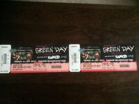 Pair of Greenday tickets