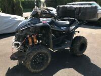 TGB Target 525,Road legal quad, 2/4 wheel drive, hi/low range, winch. with new MOT