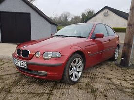 BMW 320D SE COMPACT - ONLY 109k CHEAP FOR QUICK SALE