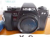 MINOLTA X-9 Camera body