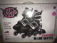 Inline skates brand new in box